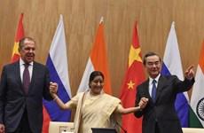Nga-Trung-Ấn nhất trí thúc đẩy hệ thống đa phương với LHQ