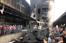 Ai Cập tích cực hỗ trợ nạn nhân trong vụ hỏa hoạn ở nhà ga Ramsis