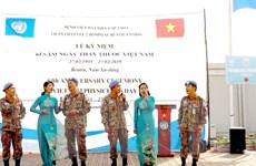 Bệnh viện dã chiến cấp 2 tổ chức kỷ niệm ngày 27/2 tại Nam Sudan