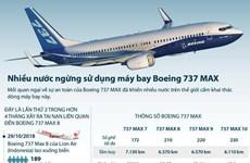 [Infographics] Nhiều nước ngừng sử dụng máy bay Boeing 737 MAX