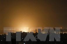 Máy bay Israel không kích Gaza nhằm đáp trả vụ bắn rocket