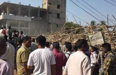 Vụ sập nhà ở Ấn Độ: Số người thiệt mạng tăng lên con số 3