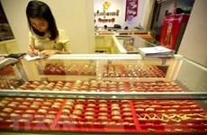 Giá vàng thế giới tăng lên mức cao nhất trong hơn ba tuần