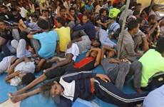 Quân đội Libya bắt giữ hơn 100 người nhập cư bất hợp pháp