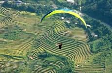 Khảo sát 2 điểm bay dù lượn mới ở đỉnh đèo Khau Phạ và đồi mâm xôi