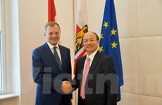 Thúc đẩy quan hệ kinh tế giữa Việt Nam và bang Thượng Áo