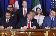 Thỏa thuận NAFTA mới giữa Mỹ, Mexico và Canada gặp khó