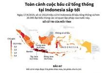 [Infographics] Toàn cảnh cuộc bầu cử tổng thống ở Indonesia sắp tới