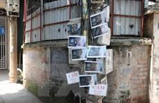 Hà Nội: Độc đáo cách trị hành động xả rác bừa bãi ở Dịch Vọng Hậu