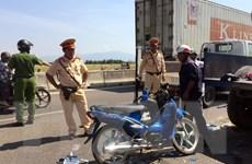 Ninh Thuận: Va chạm với xe máy cày, hai mẹ con tử vong tại chỗ