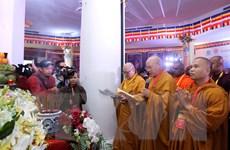 Đoàn đại biểu quốc tế dự Đại lễ cầu quốc thái dân an ở đỉnh Fansipan