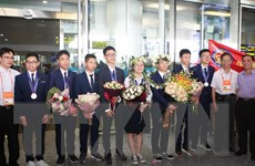 Olympic Vật lý châu Á 2019: Mang vinh quang trở về cho đất nước