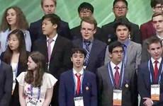 Việt Nam giành giải Ba tại Hội thi khoa học kỹ thuật quốc tế