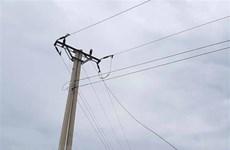Thanh Hóa: Trên đường ra đồng gặt lúa, 2 người bị điện giật tử vong