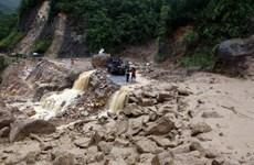 Vùng núi của tỉnh Lào Cai có nguy cơ lũ quét, sạt lở đất đá