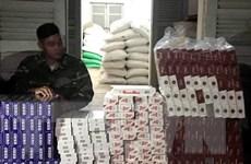 An Giang phát hiện, thu giữ gần 2.500 gói thuốc lá ngoại nhập lậu