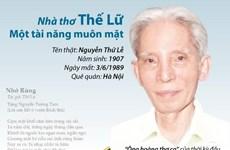 [Infographics] Nhà thơ Thế Lữ - Một tài năng muôn mặt