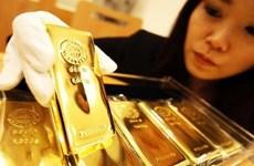 """Giá vàng thế giới áp sát mức """"đỉnh"""" trong ba tháng qua"""