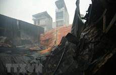 Phú Thọ: Cháy lớn một nhà máy trong Khu công nghiệp Thụy Vân