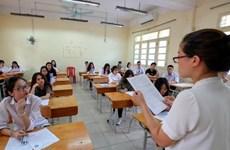 Kiểm tra công tác chuẩn bị thi trung học phổ thông quốc gia ở Phú Yên