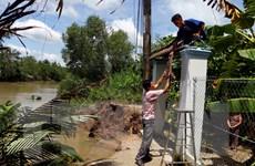 Cần Thơ: Liên tiếp hai vụ sạt lở bờ sông làm 1 căn nhà bị sập