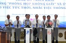 Thành phố Hồ Chí Minh triển khai mô hình Phòng họp không giấy