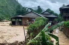 Mưa lũ, sét đánh gây thiệt hại về người, tài sản tại Điện Biên