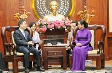 Thúc đẩy hợp tác giữa TP Hồ Chí Minh và thành phố Hàng Châu