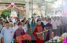 [Photo] Tín ngưỡng thờ Mẫu trong lễ hội truyền thống đền Lảnh Giang