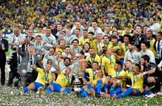 """Copa America 2019: """"Tân vương"""" Brazil thâu tóm mọi danh hiệu"""