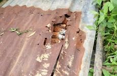 Lâm Đồng: Phát hiện hầm đạn cối 60mm dưới chân đèo Bảo Lộc