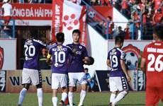 """V.League 2019: """"Nóng"""" trên đường đua dẫn đầu Bảng xếp hạng"""