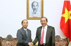 Tăng cường hợp tác trong lĩnh vực tòa án giữa Việt Nam và Lào