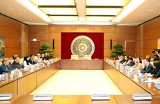 Tăng cường quan hệ hợp tác giữa các đại biểu Quốc hội Việt Nam-Pháp
