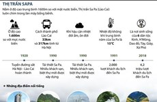 [Infographics] Thị trấn Sa Pa - Điểm đến hấp dẫn du khách