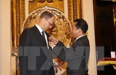 Trao tặng Huân chương Hữu nghị cho Đại sứ Đức tại Việt Nam