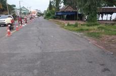 Ban bố tình huống khẩn cấp nguy cơ sạt lở trên Quốc lộ 91