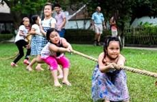 """Hà Nội: Tổ chức hát đồng dao độc đáo trong """"Ngày hội tuổi thơ"""""""