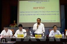 Sự cố chạy thận nhân tạo ở Nghệ An: Hệ thống dẫn nước không đảm bảo