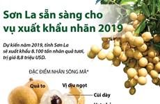[Infographics] Sơn La sẵn sàng cho vụ xuất khẩu nhãn năm 2019