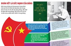 [Infographics] Vấn đề đoàn kết trong Di chúc của Chủ tịch Hồ Chí Minh