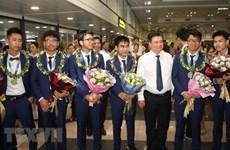 Thành tích của học sinh Việt Nam trong các kỳ thi Olympic quốc tế 2019