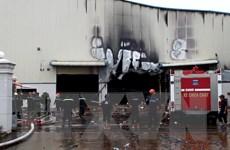 Bình Dương: Hỏa hoạn tại nhà máy sản xuất gỗ gây nhiều thiệt hại