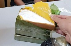Lào Cai: Bắt quả tang 2 đối tượng vận chuyển 7 bánh heroin