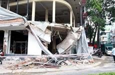 Bình Dương: Sập tường nhà xưởng, hai công nhân tử vong