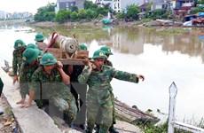 [Photo] Hải Phòng: Di dời thành công quả bom cỡ lớn ở sông Tam Bạc