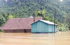 Quảng Bình: Người dân an tâm trong những ngôi nhà tránh lũ