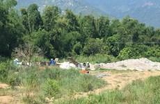 Khánh Hòa: Đình chỉ hoạt động cơ sở tái chế nhựa phế liệu gây ô nhiễm