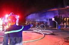 Bình Thuận: Hỏa hoạn thiêu rụi cửa hàng thiết bị điện trên Quốc lộ 1A