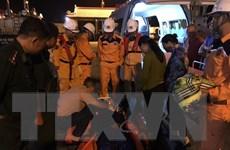 Cứu kịp thời một ngư dân bị tai nạn nguy hiểm đến tính mạng